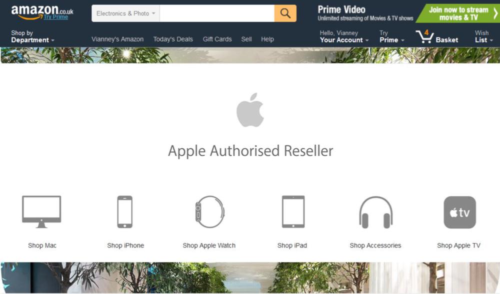 Apple for Amazon