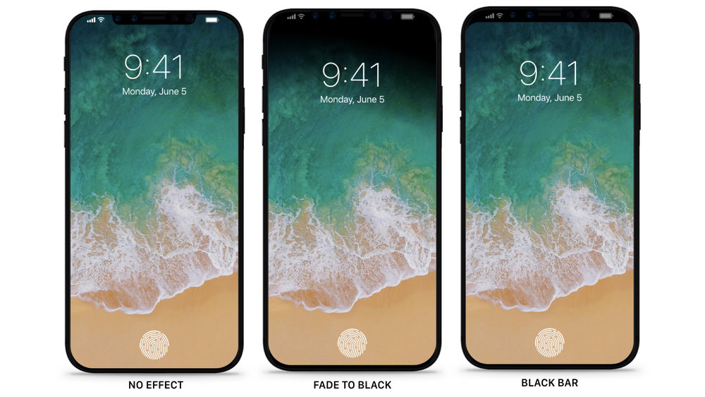 Smart Invert (or Dark Mode), Home button and video on iPhone 8 with iOS 11—Concept -- Read more  |  See YouTube clip