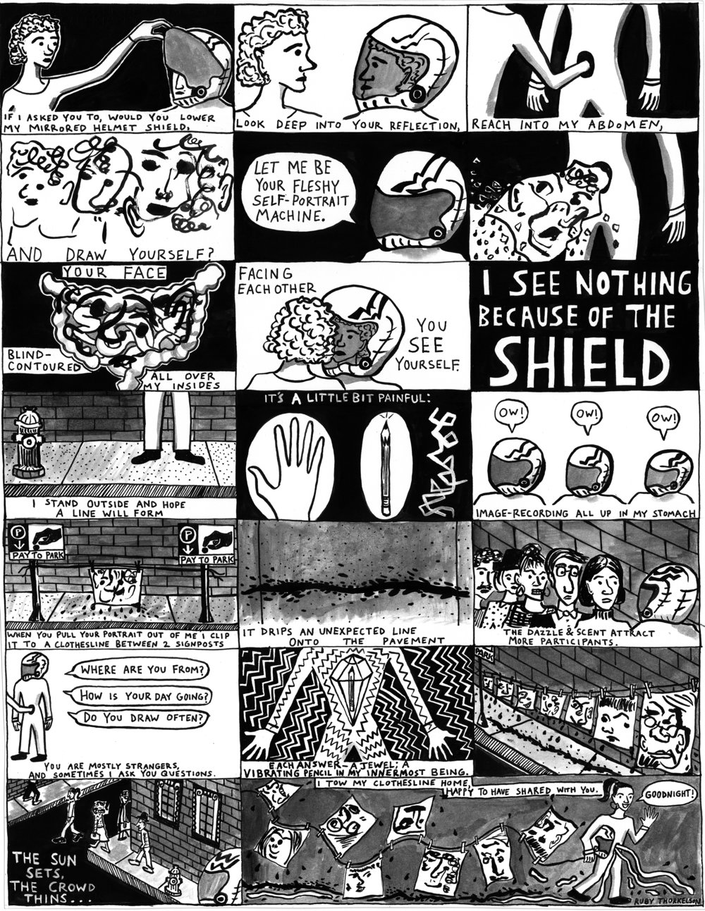 Draw Yourself Inside My Body