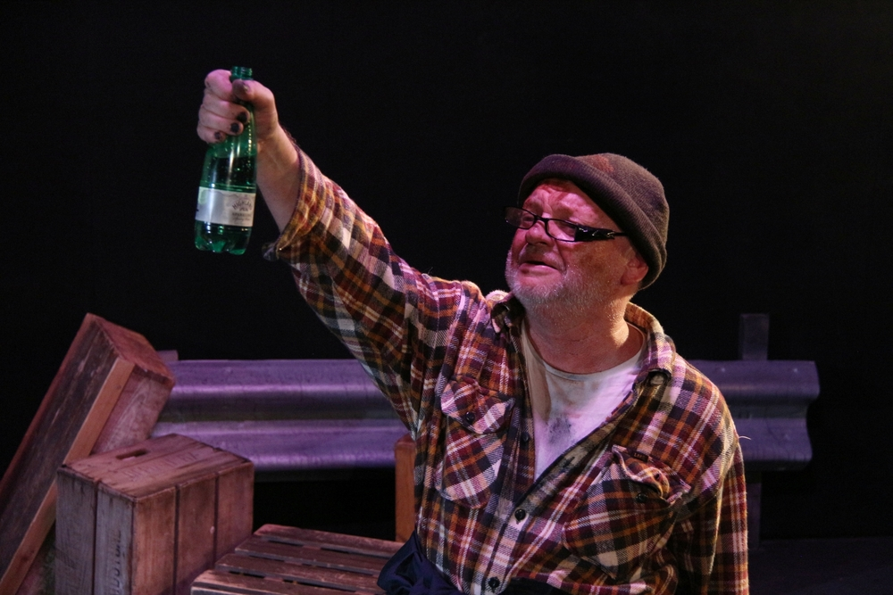 "Ian Dring in the London production of ""The Bus"""