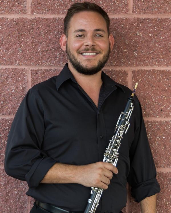 M.M. University of North Texas  Oboe Performance   B.M. East Tennessee   State University  Oboe Performance