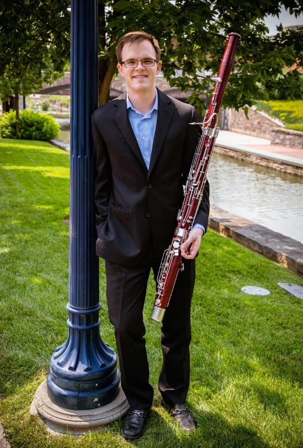 M.M. DePaul University Bassoon Performance B.M. University of North Texas Music Education