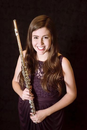 D.M.A. The Hartt School  Flute Performance   M.M. Peabody Conservatory  Flute Performance   B.M. Baldwin Wallace Conservatory  Flute Performance