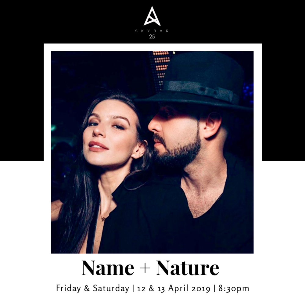 Name Nature at Skybar25 Accra Ghana