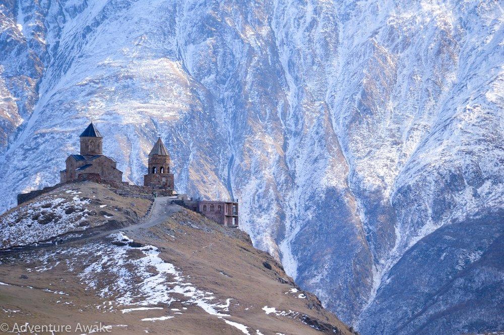 Gergeti Trinity Church - Adventure Awake