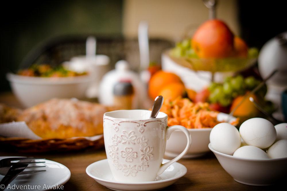 Adventure Awake Georgian Breakfast