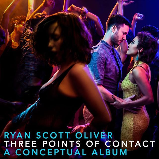 """This. Is. A. Massive. Deal. @ryanscottoliver just announced his new conceptual album for """"THREE POINTS OF CONTACT"""", his beautiful show currently in the works. It drops next month, and you should all listen. The story is powerful, and his music is elating. We're very proud of you RSO! Check out his stories for the track listings! 📷: @murphymade"""