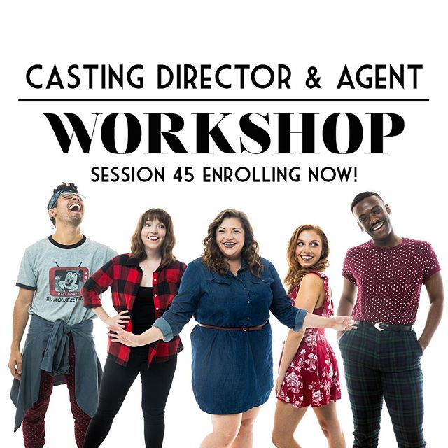 Actor Therapy's brand new Casting Director and Agent Workshop is now enrolling for Session 45! This one-of-a-kind program combines personal mentorship, casting director face time with New York's top casting offices, and an agent showcase all in one. Head on over to: www.actortherapynyc.com/cdaw