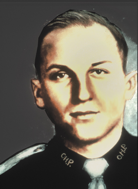 Trooper John Barter    January 23, 1959   Barter joined the OHP in 1953. Trooper Barter was on patrol on Highway 62 near Altus when he turned onto a county road to investigate a disturbance. He found a parolee and a woman. It was later determined that the pair had shot at the man's wife and had just tried to kill a black porter. When Barter directed the man to surrender his weapon, the parolee shot the Trooper in the chest. A motorist reported the crime and the two were arrested at an OHP roadblock near Randlett three hours later. The man was executed for the crime in 1960 and the woman was sentenced to prison and paroled in 1975.