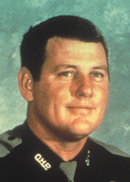 Trooper Richard Oldaker    July 3, 1978   Oldaker joined the OHP in 1969. Trooper Oldaker was the pilot of the O.H.P. aircraft Trooper Alexander and Ft. Sill solder Spec. 4 Ronnie D. Russell were aboard which was on a low flying mission over the Salt Fork River bed near Hollis. The plane struck a utility pole wire spanning the river and crashed. All three men died in the crash.