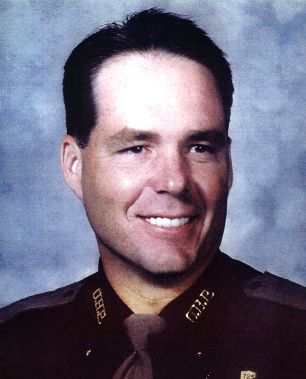 Trooper Steven R. Smith    February 9, 2006   Trooper Steve Smith was shot by an armed man at a cemetery near Bernice, Oklahoma. On April 25th, 1999, Trooper Eddie Rose and Grove Police Department responded to a reported homicide where a body was found in the cemetery. Shortly after they arrived on the scene, an armed man confronted them. The officers directed him to surrender his weapon but he refused. Trooper Smith and the Delaware County Sheriff arrived to assist and during a struggle with the suspect, both officers were wounded from shots fired by the suspect. The suspect, Carlton Davis, then shot and killed himself. Trooper Smith suffered a gunshot to the neck and the injuries left him permanently and totally disabled. The shooting forced Trooper Smith to take medical retirement in 2000. Trooper Smith's injuries that day ultimately resulted in his death.