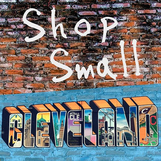 Support local this #SmallBusinessSaturday - it means the world to local businesses, and makes for much better gifting! #HolidaysAtTheHildebrandt is a great place to start today; visit Hildebrandt Provisions Co. on Facebook for event info. #shopsmall #shoplocal #thisiscle #tistheseason