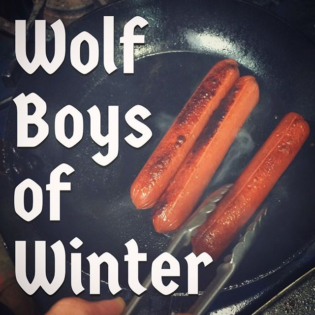Love of hot dogs knows no season. A cast iron pan is our preferred method for indoor hot dog cooking! #hotdogsyearround #bonafide #hotdogs #lemmegetawolfboy #comfortfood #castiron #thisiscle