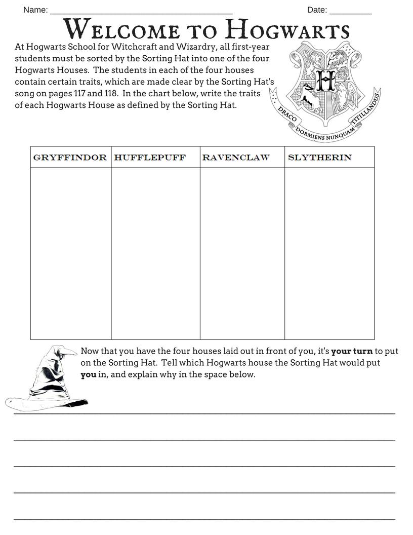 worksheet Harry Potter Worksheets printables shelby ann additionalharrypotterworksheet png