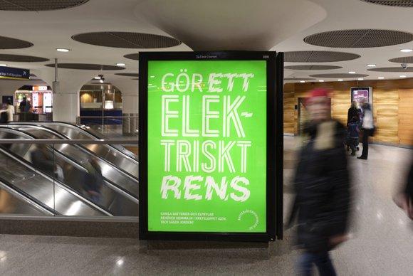 Gör ett elektriskt rens!  Kampanj som hamnade på nyheterna .