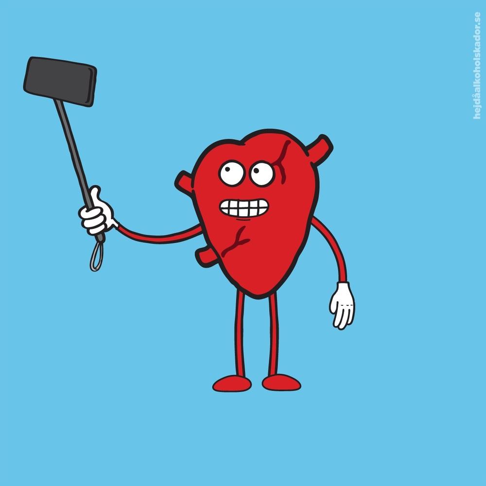 Hjärtat!Karaktär i  kampanj för CAN .