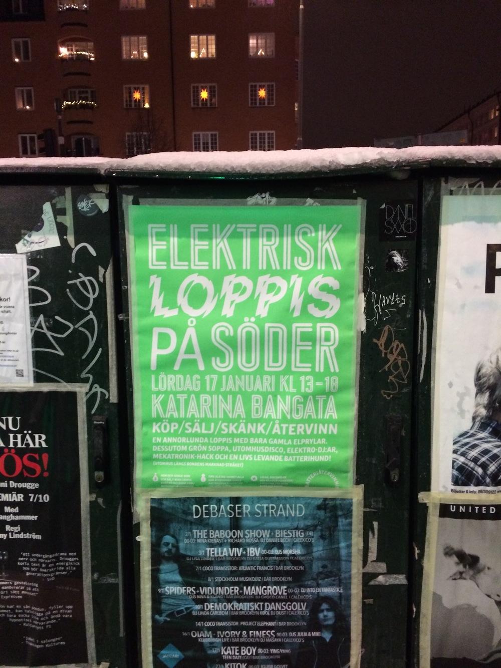 Kampanj och event för  Batteriåtervinningen .