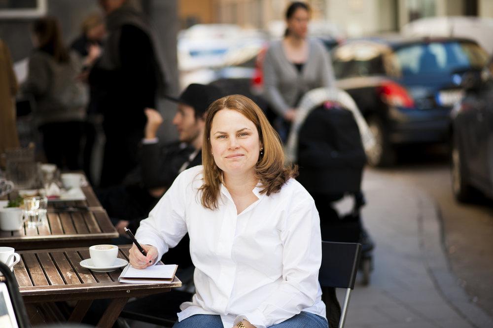 Hej från en aspirerande manusförfattare. Foto: Henrik Berglund