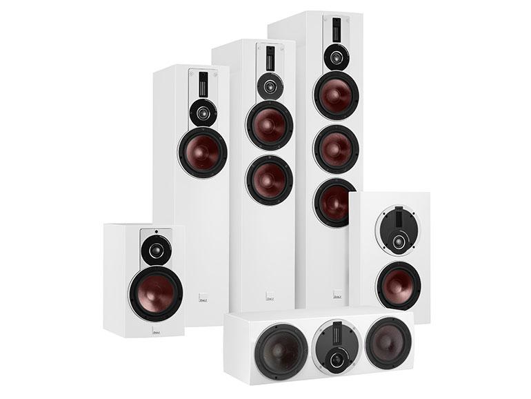 DALI Rubicon 8 theater speakers including vokal
