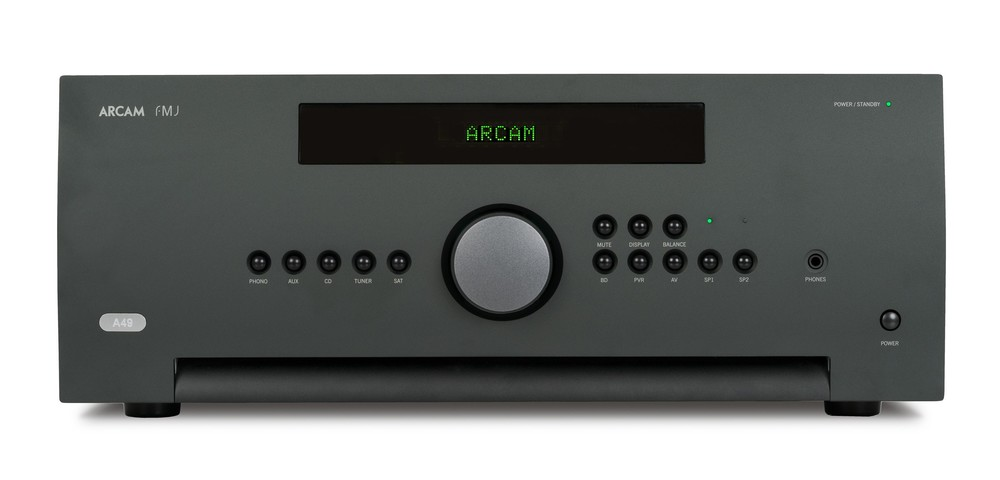 Arcam A49 amplifier front