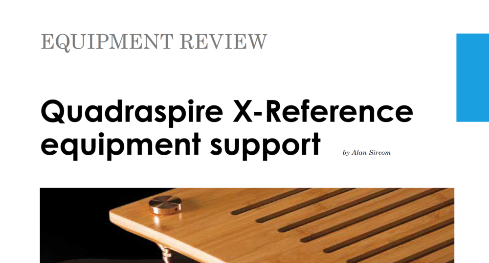 X-Reference Review HiFi+