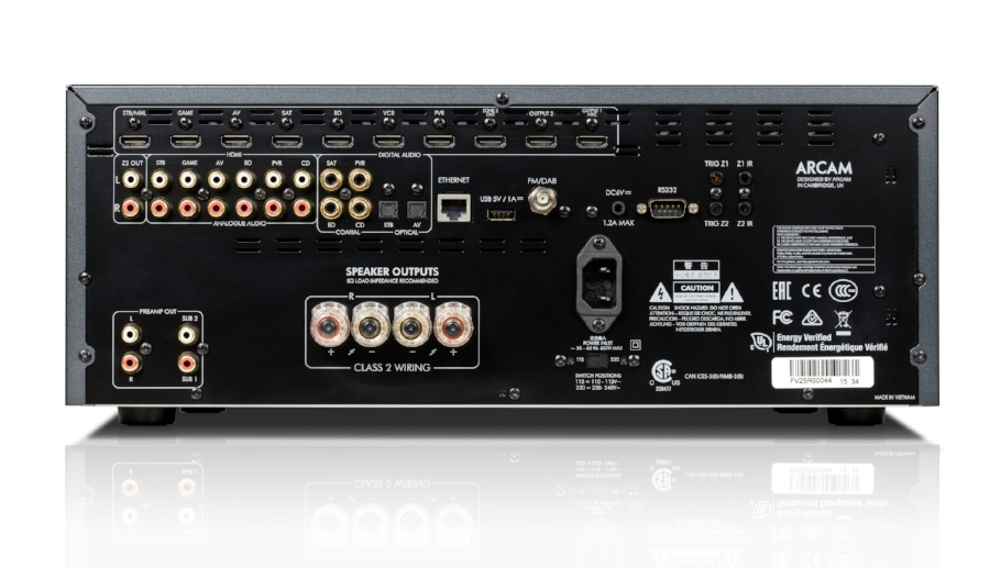 Arcam of Cambridge: SR250 A unique Stereo AV receiver. The power and performance of a High-end Class G Hi-Fi amplifier. The connectivity of a world-class AV amp. Literally the best of both worlds for people who want great Hi-Fi and a new breed of Movie and TV sound. pr@robfollis.com