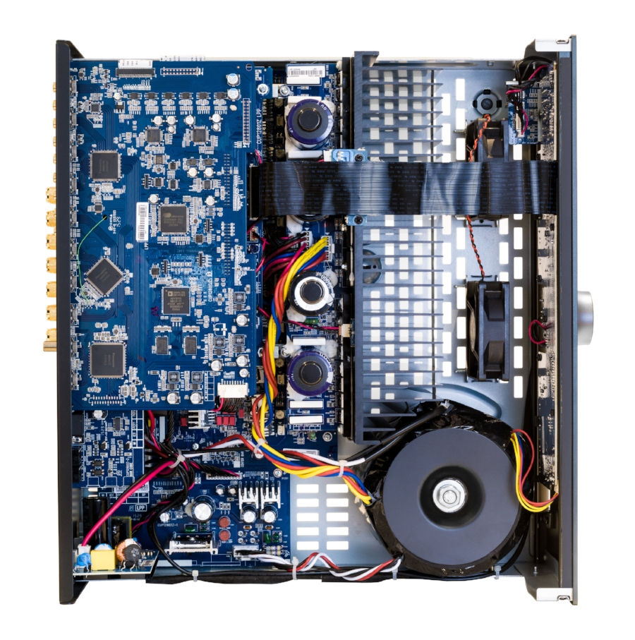 Arcam AVR850 inside shot