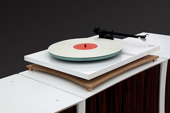 Quadraspire Soundstage shown with Planar 3