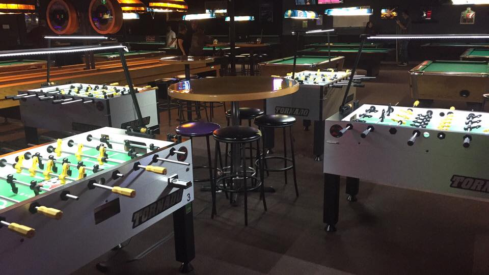An ALL STAR setup with four brand new TORNADO Tables for competing with the best!