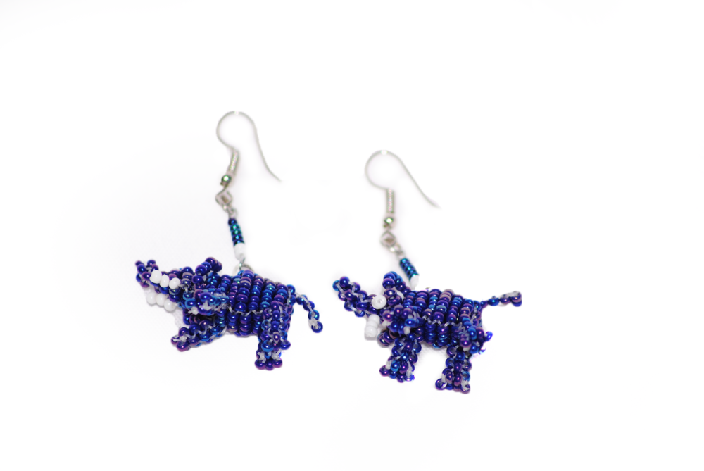 Animal earrings