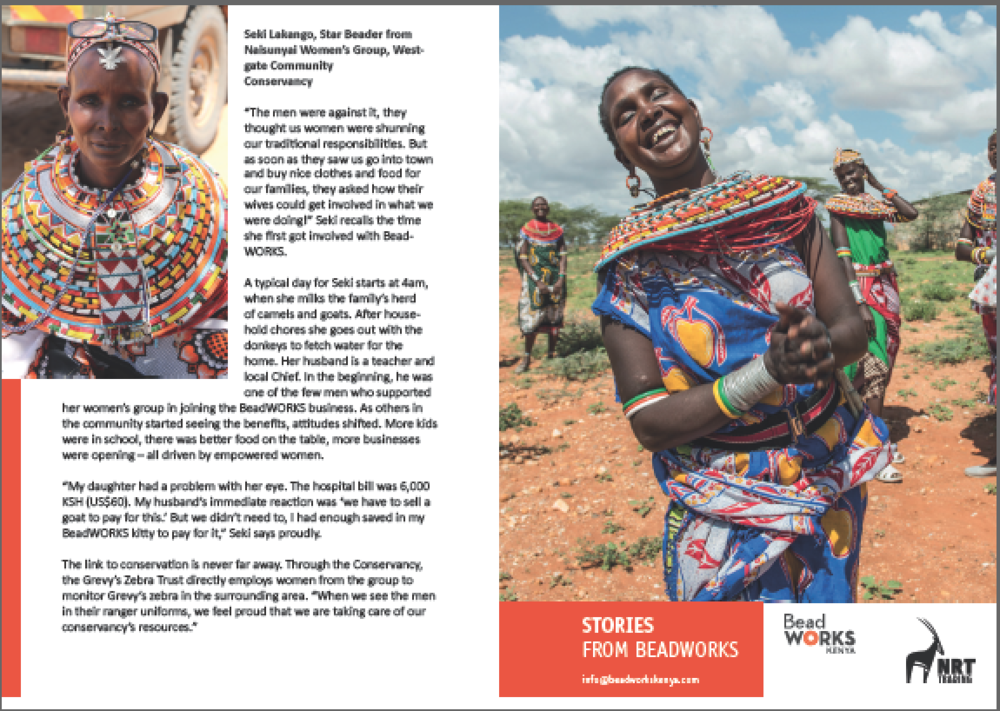 BeadWORKS - stories from the women