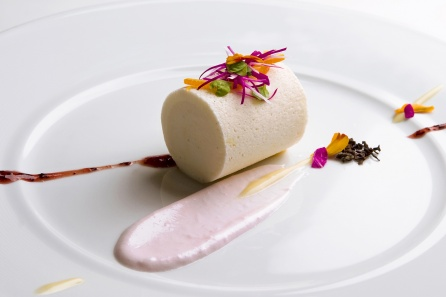 An exquisite example of number one Le Bernardin's plating expertise.