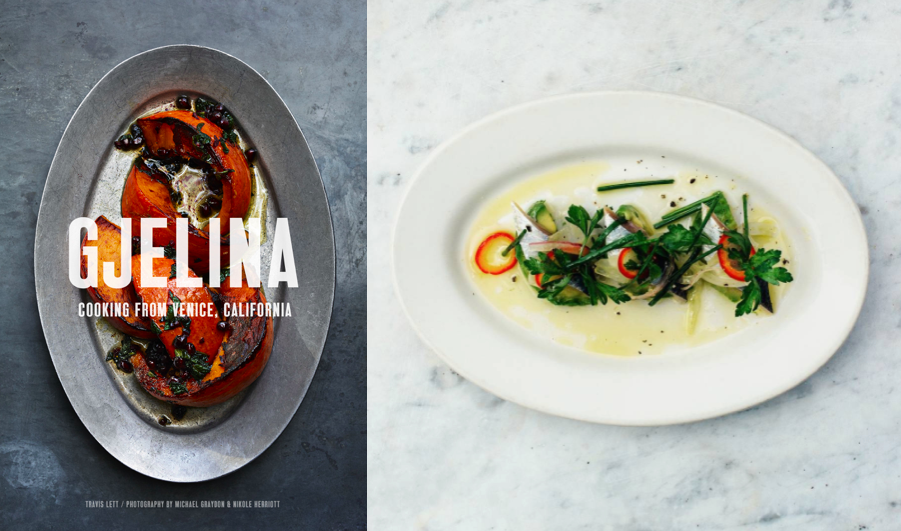 Gjelina (left); @gjelinarestaurant (right)