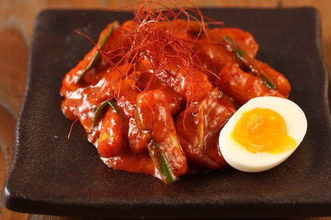 Hanjan's ddukbokki for restaurant week