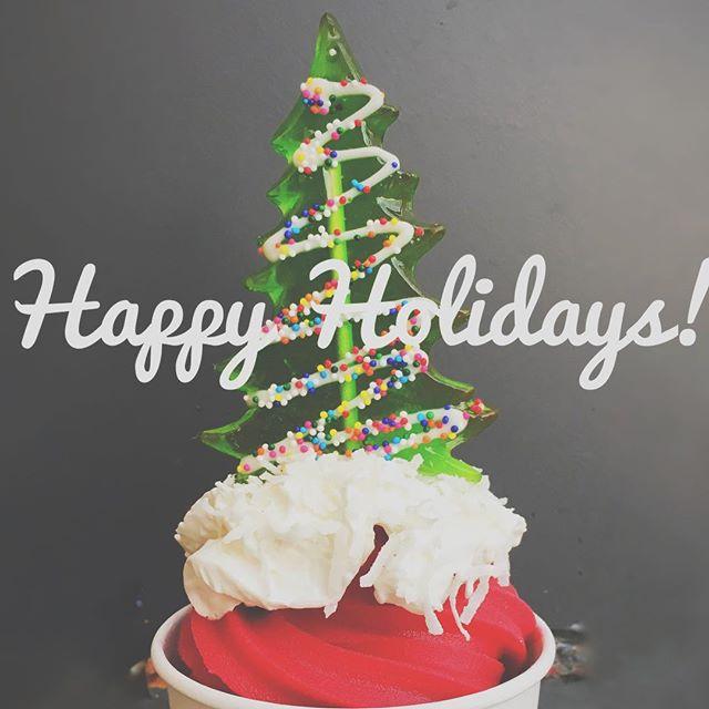 Happy Holidays from Local Yogurt! We will be closed 12/24, 12/25, and 12/26 🎄. #localyogurt #frozenyogurt #dukeuniversity #ncfood #durham #durhameats #dukespoon #holidayseason