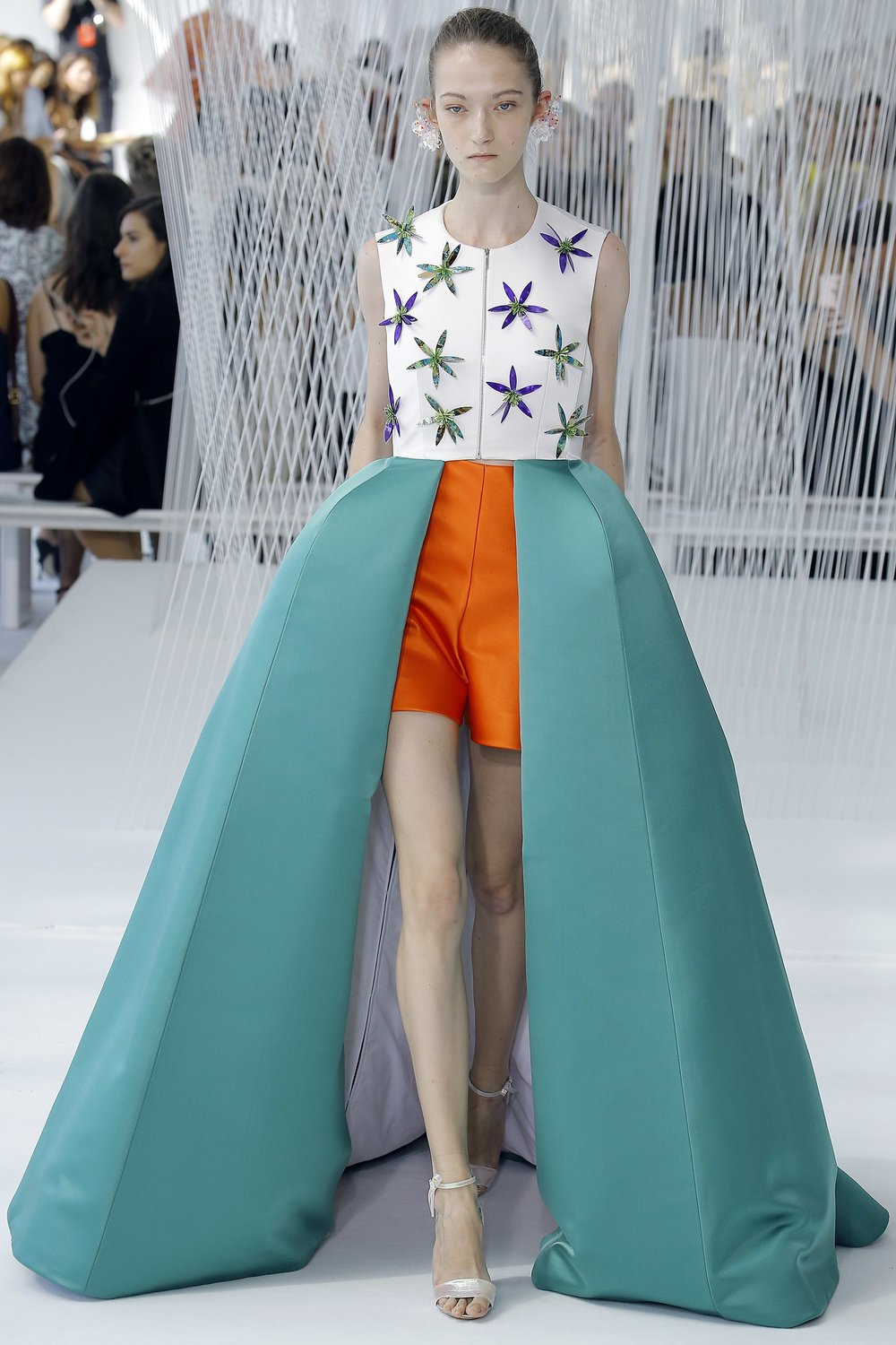 Delpozo Spring 2017. Image Luca Tombolini/Indigital.tv via Vogue.