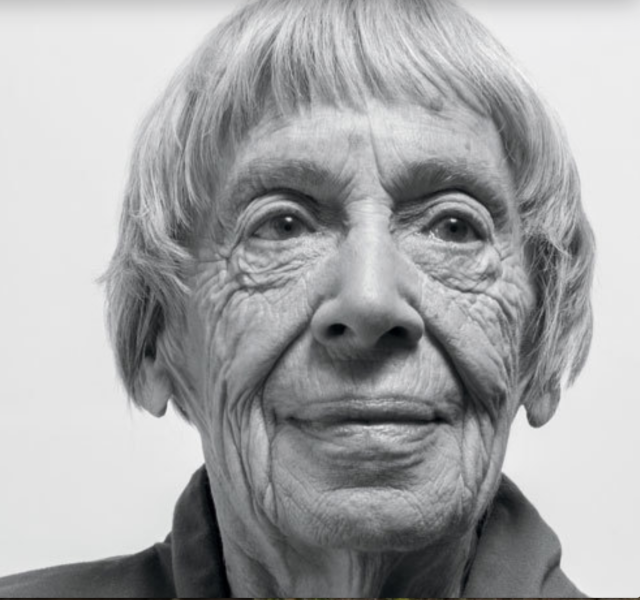 Ursula Le Guin Photographed by William Anthony