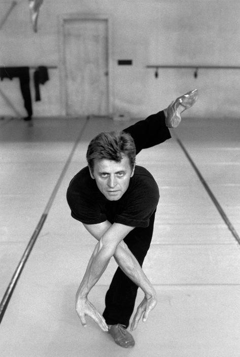Ferdinando Scianna, Mikhail Baryshnikov in a schooldance, 1993, via Magnum Photos © Ferdinando Scianna/Magnum Photos