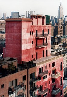 The artist Julian Schnabel's New York residence, Palazzo Chupi, by Robert Polodori  via  Vanity Fair