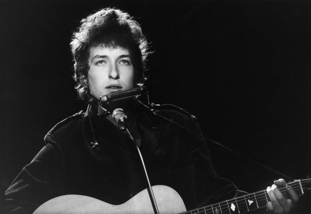 Bob Dylan in 1965. Photograph: Val Wilmer/Redferns.