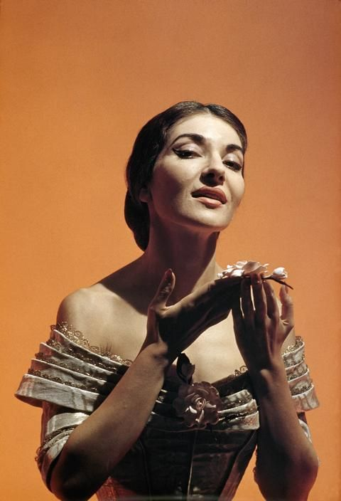 Callas photographed by Burt Glinn, 1955 via Magnum Photos.