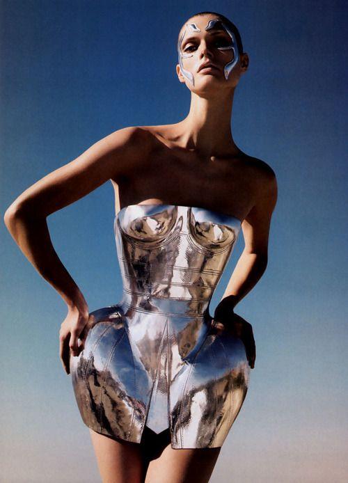 Silver corset, Dolce & Gabbana