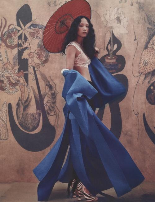 Photo Hong Jang Hyun for Vogue Korea, August 2016