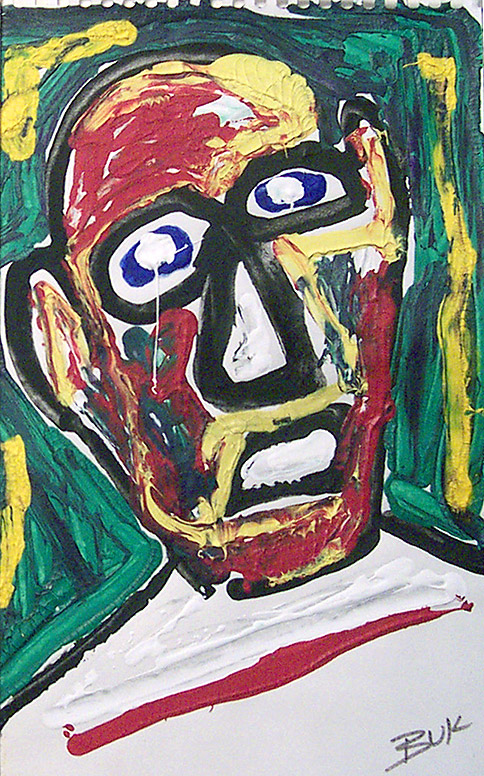 Charles Bukowski, Self-Portrait