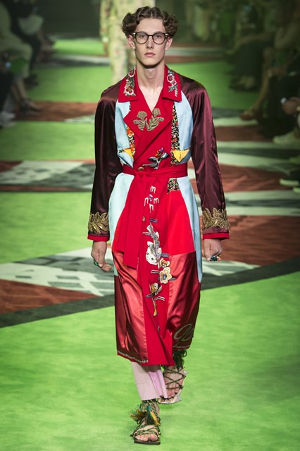 Gucci SS 2017 Men's Collection