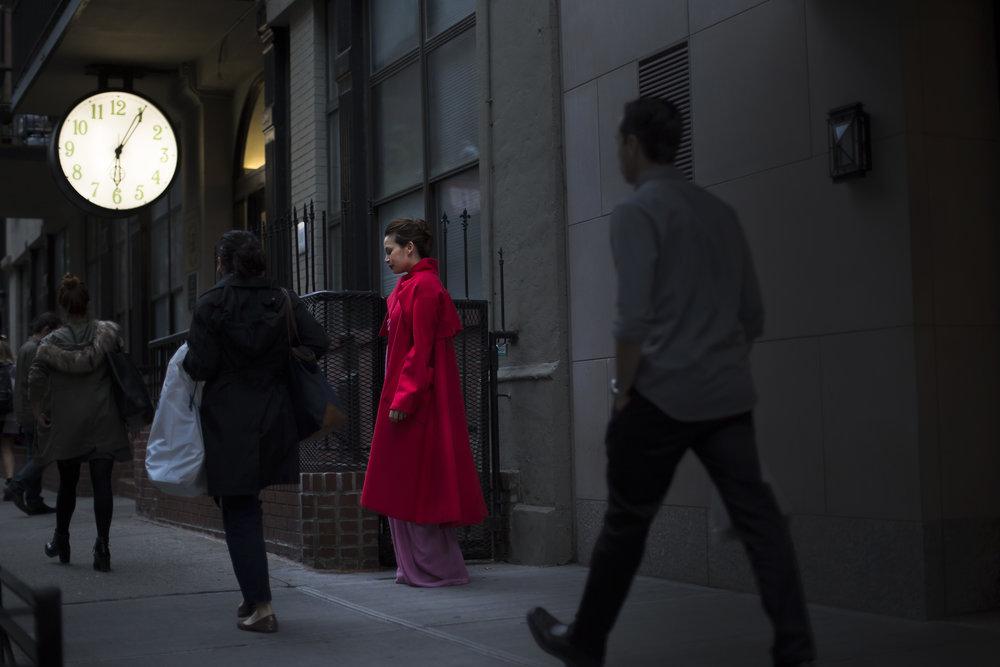 Dior coat,3.1 Philip Lim Dress