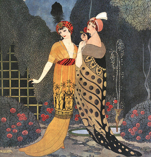 An illustration for the couturier Paul Poiret, 1912