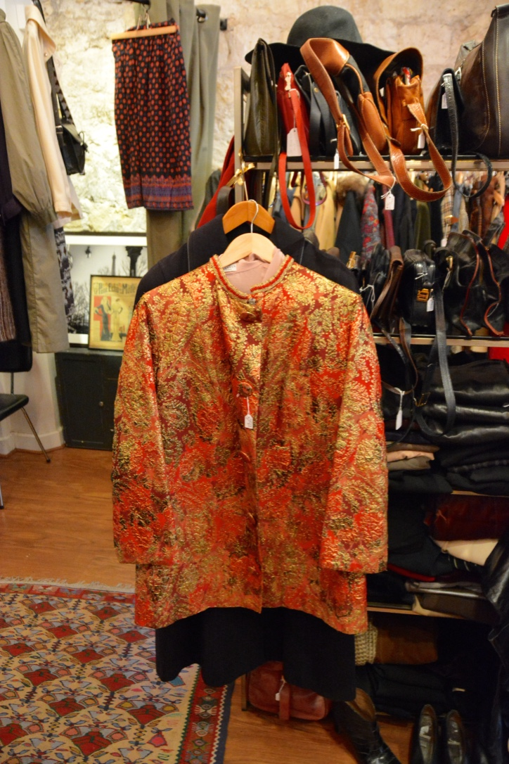 Brocade Lanvin jacket