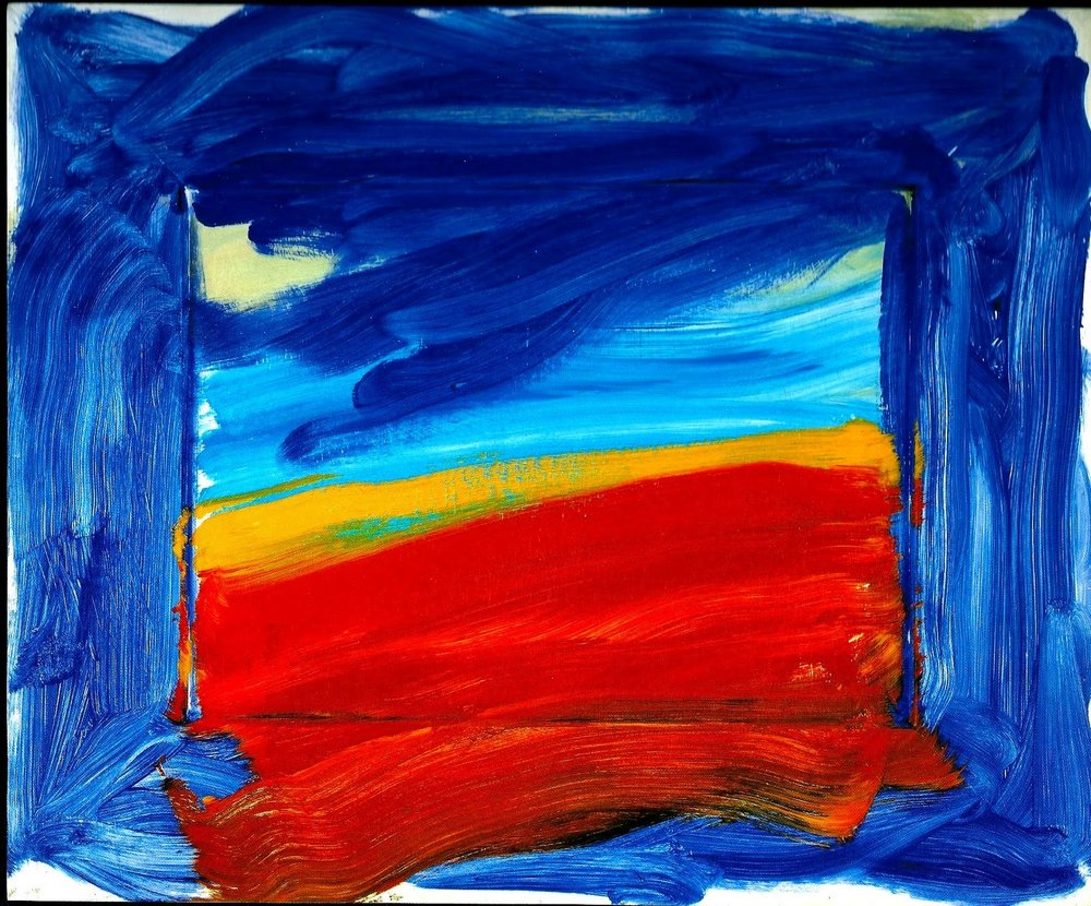 Howard Hodgkin, Americana, 1999-2001