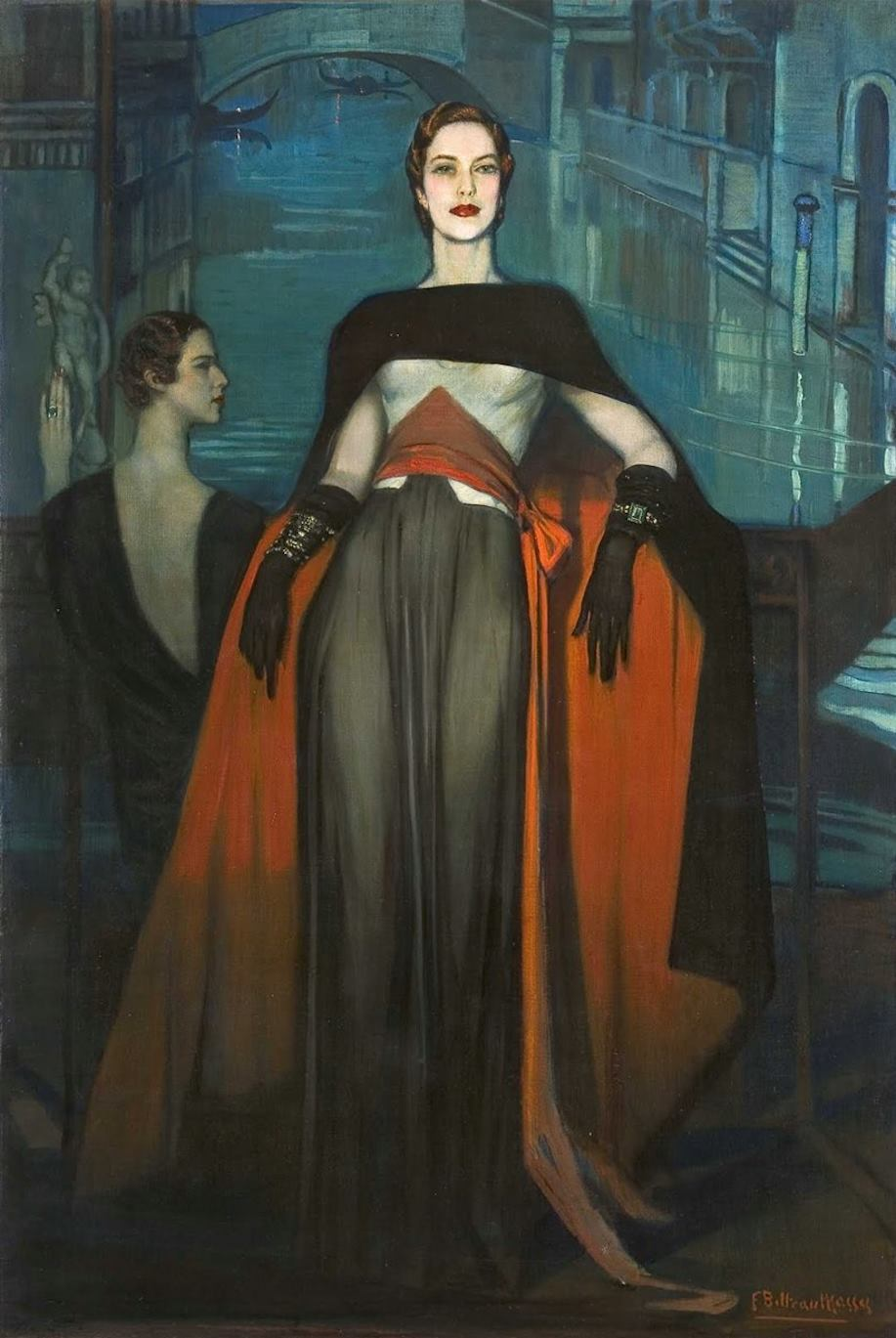 Madame Bonnardel, Countess de Montgomery, 1934
